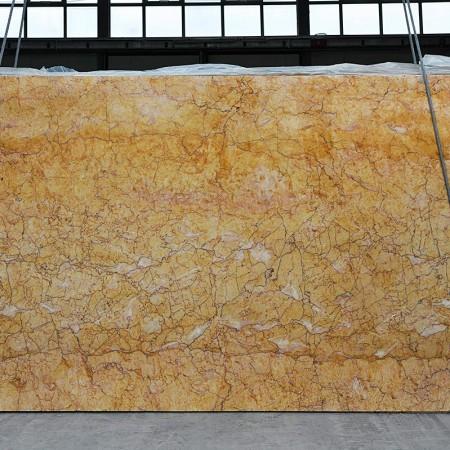 Crema Valencia marble slabs
